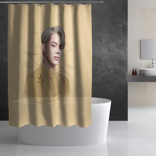Штора 3D для ванной Park Jimin Фото 01