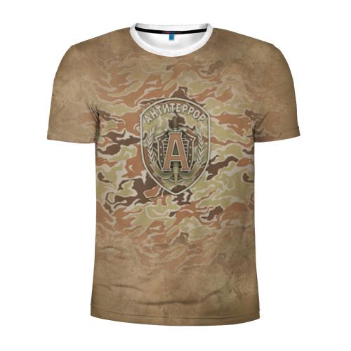 Мужская футболка 3D спортивная Альфа