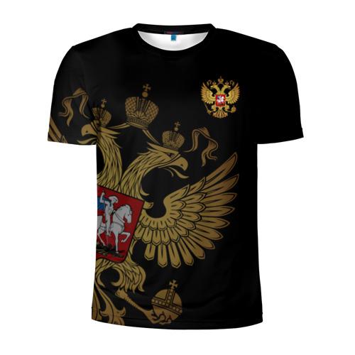 Мужская футболка 3D спортивная Россия