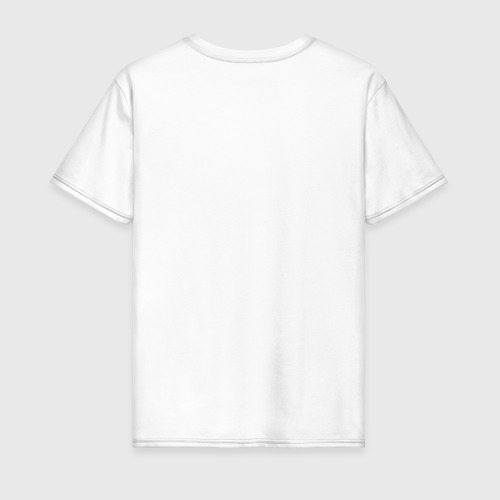 Мужская футболка хлопок X - Глитч Фото 01