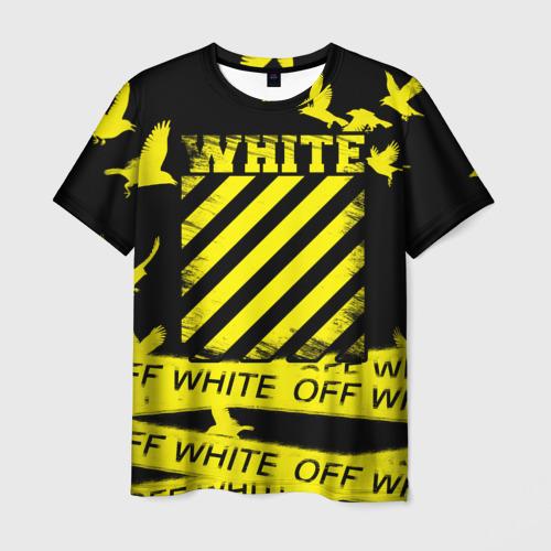 Мужская футболка 3D OFF White 2