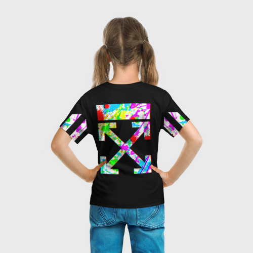 Детская футболка 3D OFF White 4 Фото 01