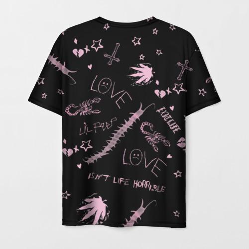 Мужская футболка 3D LIL PEEP - Life Is Beautiful Фото 01