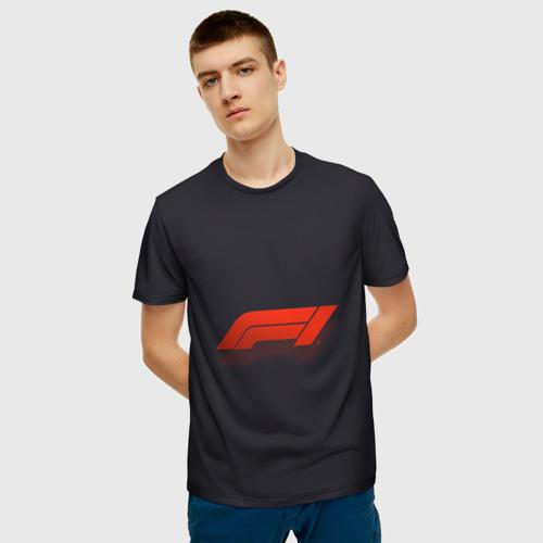 Мужская футболка 3D Formula 1 Logo  Фото 01