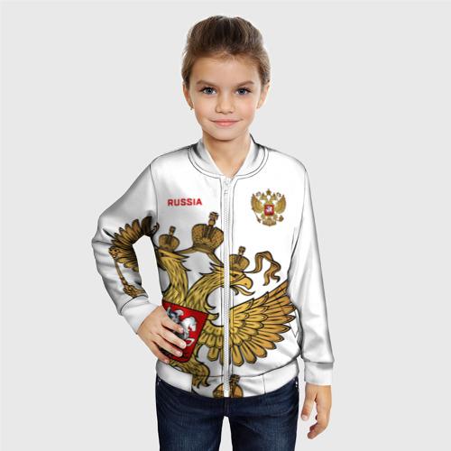 Детский бомбер 3D Россия Фото 01
