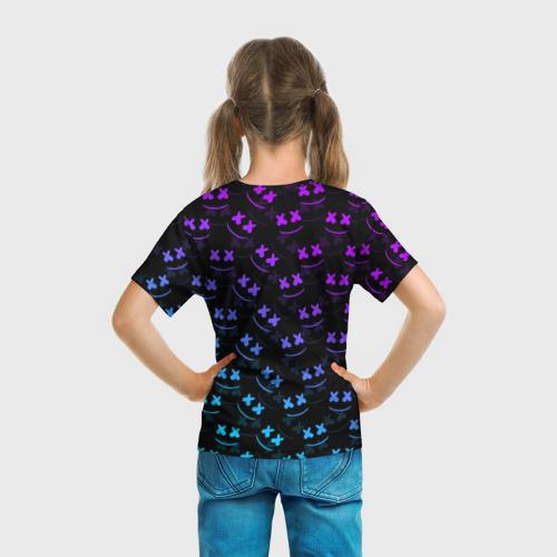 Детская футболка 3D 'FORTNITE x MARSHMELLO'