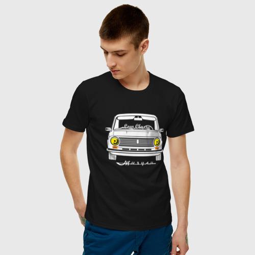 Мужская футболка хлопок Жигули 2101 Resto Low Classic Фото 01