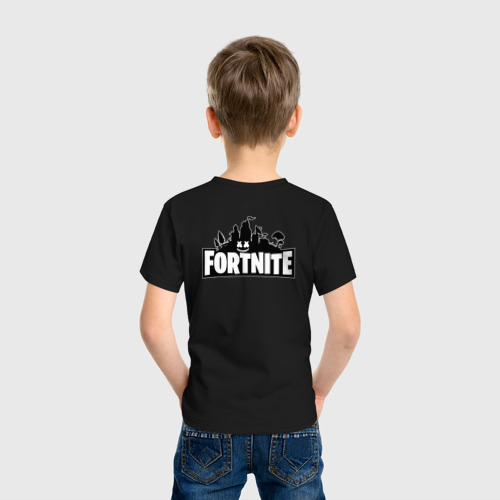 Детская футболка хлопок FORTNITE x Marshmello  Фото 01