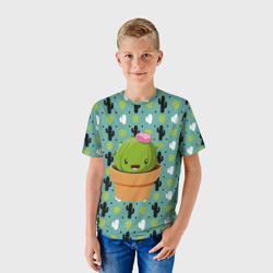 Милый няшный кактус