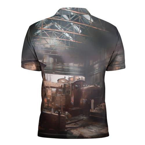 Мужская рубашка поло 3D Escape From Tarkov Фото 01