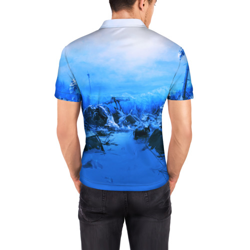 Мужская рубашка поло 3D  Фото 04, Escape From Tarkov