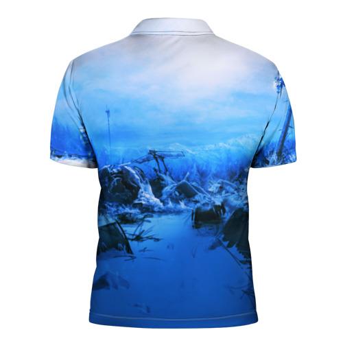 Мужская рубашка поло 3D  Фото 02, Escape From Tarkov