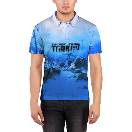 Мужская рубашка поло 3D  Фото 03, Escape From Tarkov