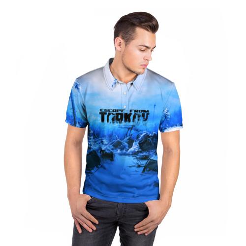 Мужская рубашка поло 3D  Фото 05, Escape From Tarkov