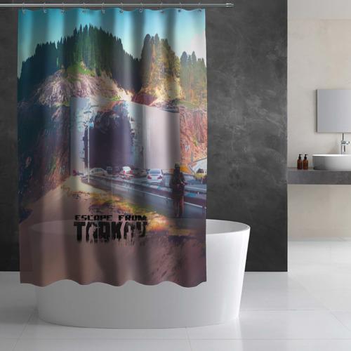 Штора 3D для ванной Escape From Tarkov Фото 01