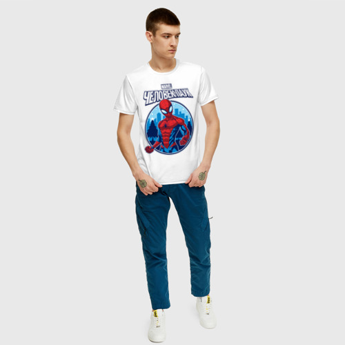 Мужская футболка хлопок  Фото 05, Человек-Паук