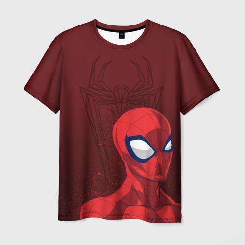 Мужская футболка 3D Spider-Man