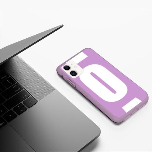 Чехол для iPhone 11 матовый Постер дело говорит Фото 01