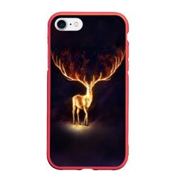 Огненный олень