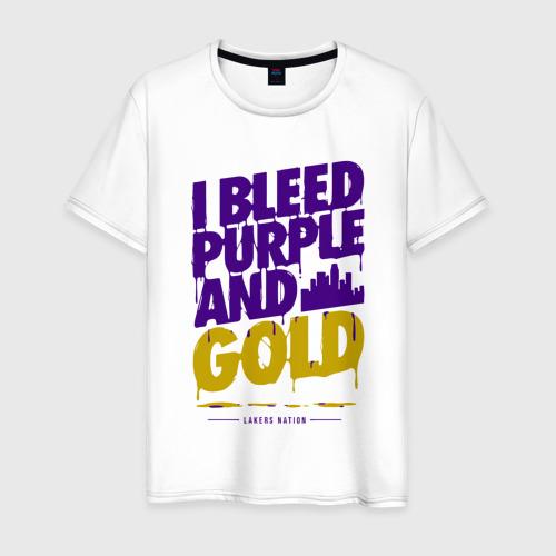 Мужская футболка хлопок Lakers Nation