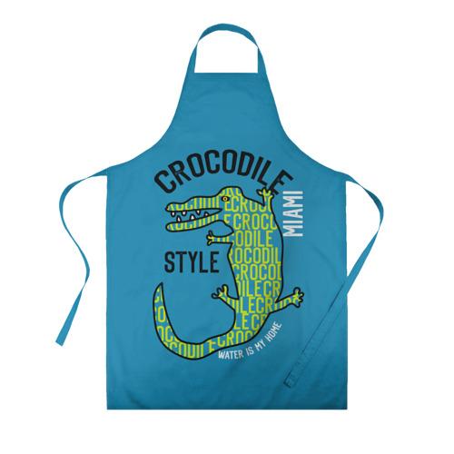картинка крокодил в фартуке цветном набережной вплотную мануфактуре