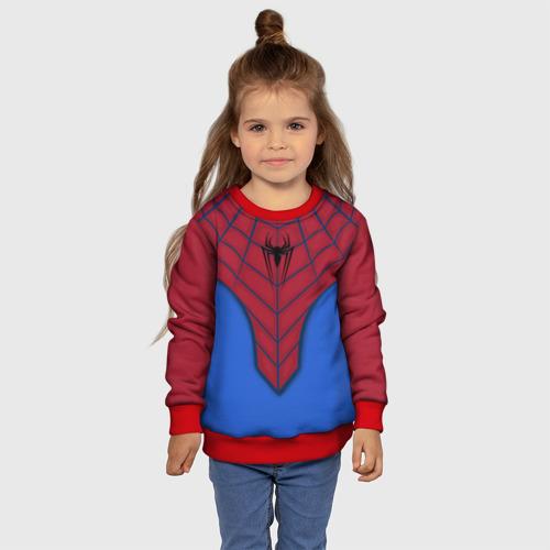 Детский свитшот 3D Костюм Человека-Паука Фото 01