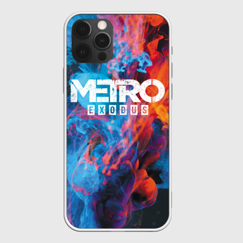 Чехол для iPhone 12 Pro Max Metro Fire Фото 01