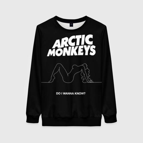 Женский свитшот 3D Arctic Monkeys Фото 01