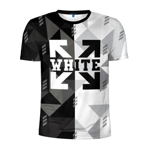 Мужская футболка 3D спортивная OFF-WHITE Фото 01