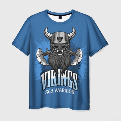 Viking sea warrior