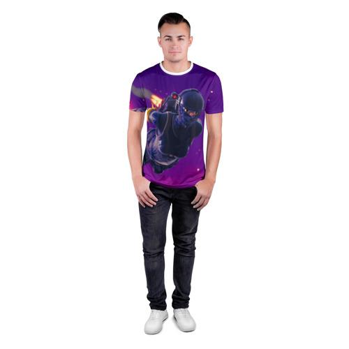 Мужская футболка 3D спортивная FORTNITE Фото 01