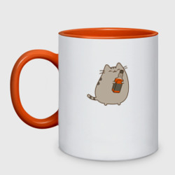 Pusheen. Love Drink