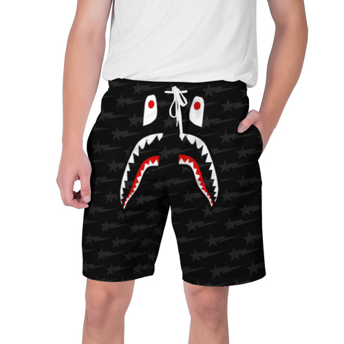 Мужские шорты 3D  Фото 01, BAPE SHARK
