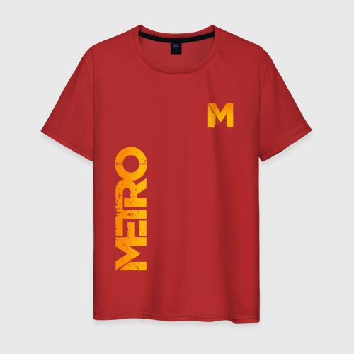 Мужская футболка хлопок METRO Фото 01