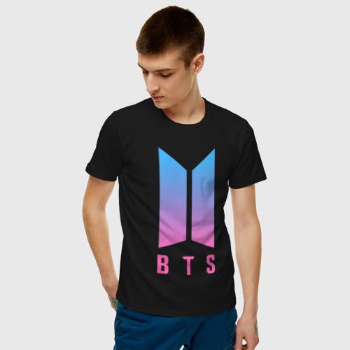 Мужская футболка хлопок BTS JUNG KOOK Фото 01