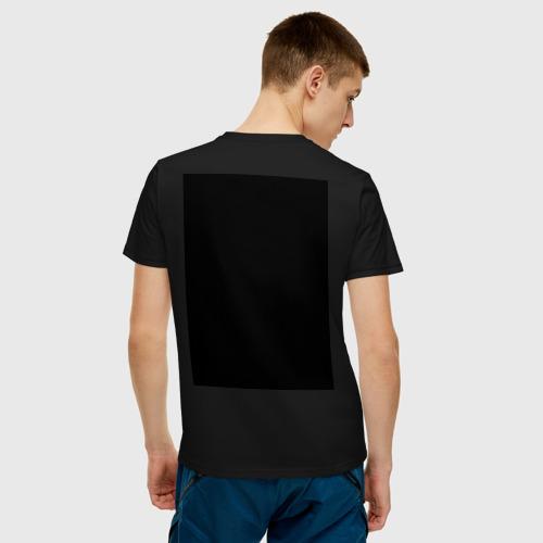 Мужская футболка хлопок СВАРОГОВ КВАДРАТ за  1085 рублей в интернет магазине Принт виды с разных сторон