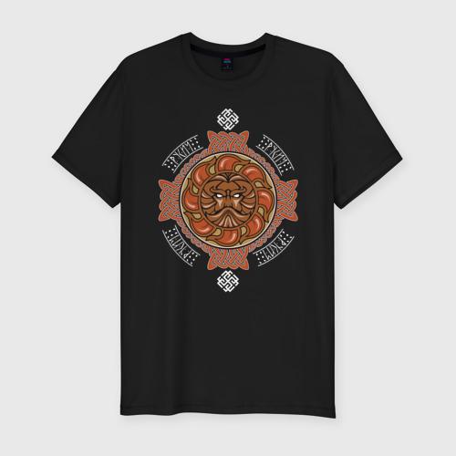 Мужская футболка премиум РУСИЧ