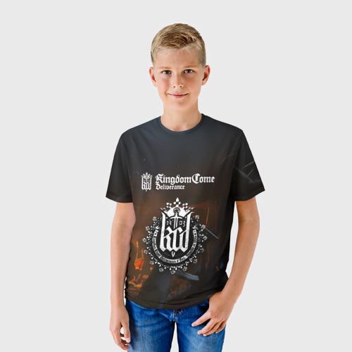 Детская футболка 3D  Фото 01, Kingdom Come: Deliverance