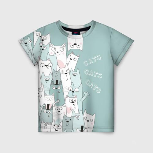 Детская футболка 3D Cats Фото 01