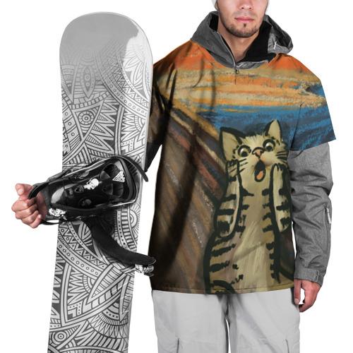 Накидка на куртку 3D Крик котика Фото 01