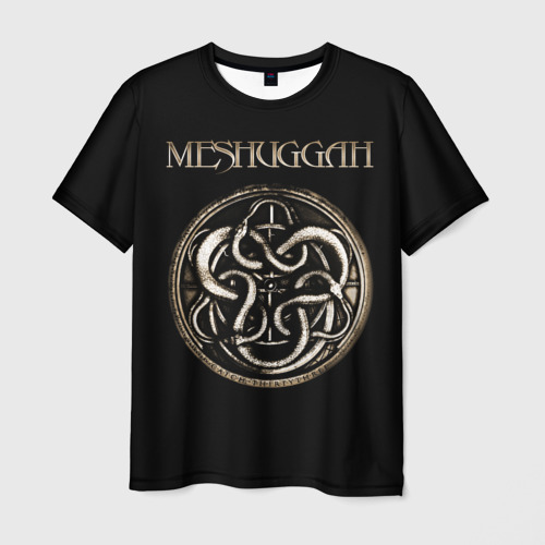Мужская футболка 3D Meshuggah Фото 01