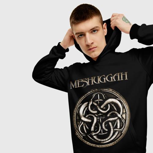 Мужская толстовка 3D Meshuggah Фото 01