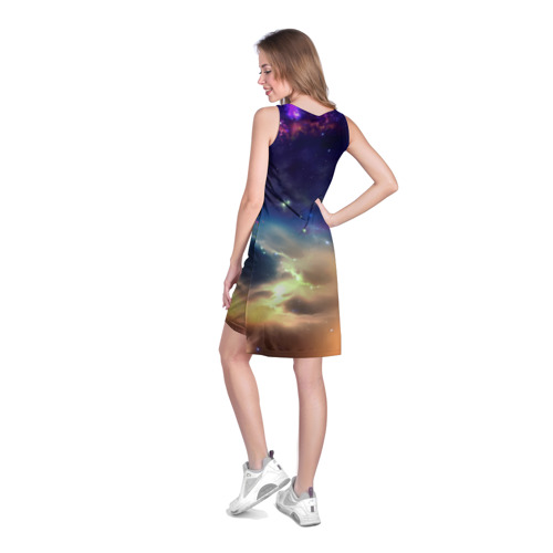 Платье-майка 3D сова Фото 01
