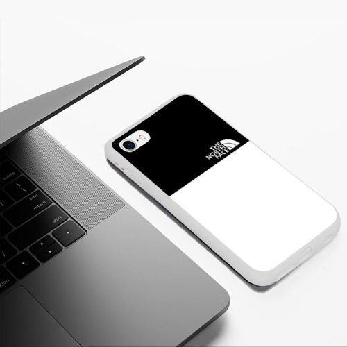 Чехол для iPhone 6Plus/6S Plus матовый THE NORTH FACE Фото 01