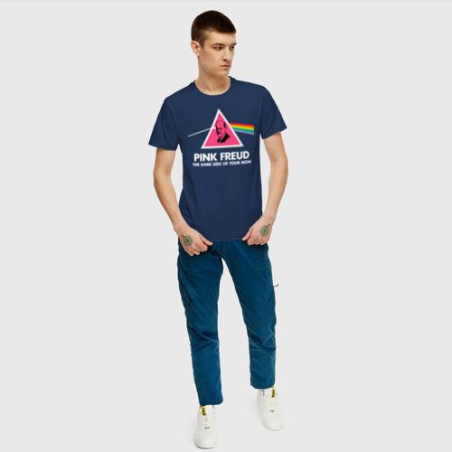 Мужская футболка хлопок Pink Freud Фото 01