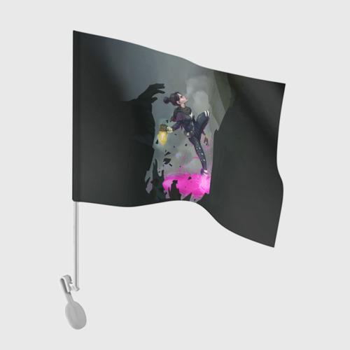 Флаг для автомобиля  Фото 01, APEX LEGENDS - Wraith