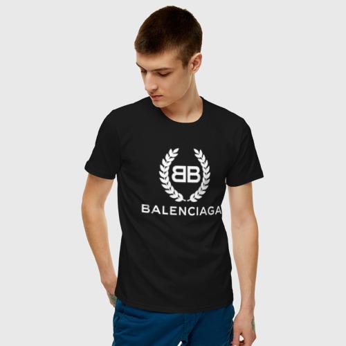 Мужская футболка хлопок BALENCIAGA Фото 01