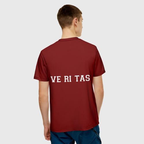 Мужская футболка 3D  Фото 02, Harvard University_девиз
