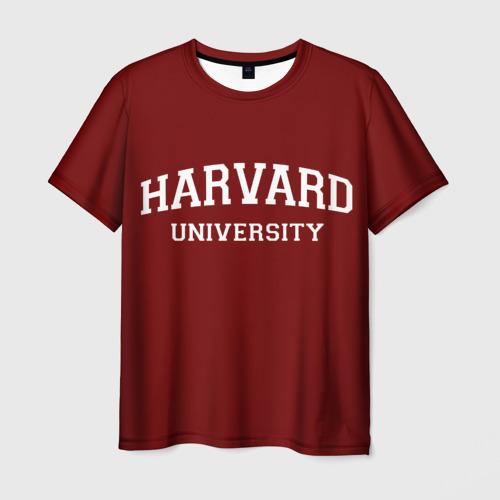 Мужская футболка 3D  Фото 01, Harvard University_девиз