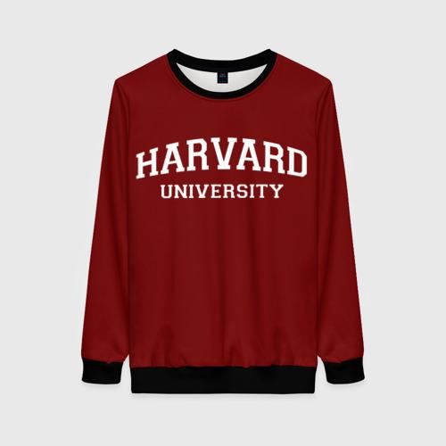 Женский свитшот 3D Harvard University_девиз Фото 01